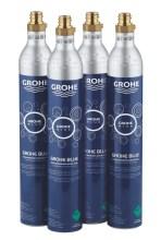 Grohe Náhradní díly Tlaková láhev CO2 425g pro Grohe Blue (4 ks) 40422000