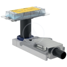 Geberit CleanLine Souprava pro hrubou montáž sprchového kanálku, pro podlahy 65-90 mm, odpad 40 mm 154.152.00.1