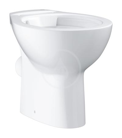 Stojící WC, rimless, alpská bílá