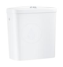 Grohe Bau Ceramic Splachovací nádrž k WC kombi, 343x153 mm, boční přívod vody, alpská bílá 39437000
