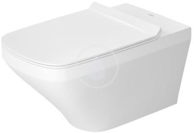 Závěsné WC, Rimless, s WonderGliss, bílá