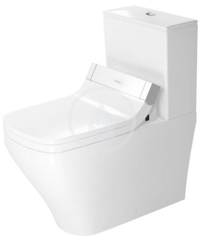 WC kombi mísa pro SensoWash, s WonderGliss, bílá