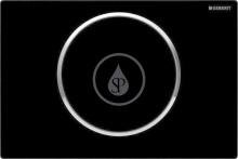 Ovládací tlačítko SIGMA10, černá/chrom