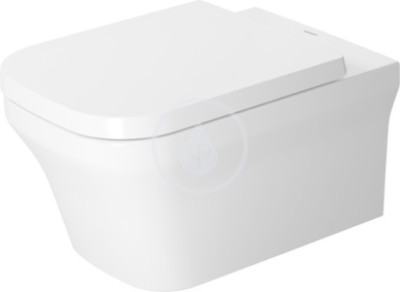 Závěsný klozet Duravit Rimless, 380 mm x 570 mm, bílý - s hlubokým splachováním 4,5 l