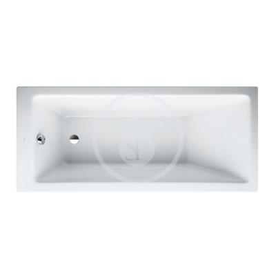 Vana, 1600 x 700 mm, bílá - s rámem, senzorové ovládání, vodní masáž