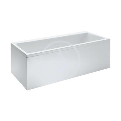 Vana, 1700 x 750 mm, bílá - s rámem, senzorové ovládání, vodní masáž