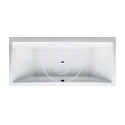 Vana, 1900 x 900 mm, bílá - s rámem, senzorové ovládání, vodní masáž
