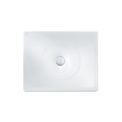 Sprchová vanička, 1200 x 800 mm, ocel/smalt 3,5 mm - s protihlukovými podložkami, bílá mat