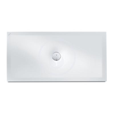 Sprchová vanička, 1400 x 700 mm, ocel/smalt 3,5 mm - s protihlukovými podložkami, bílá mat