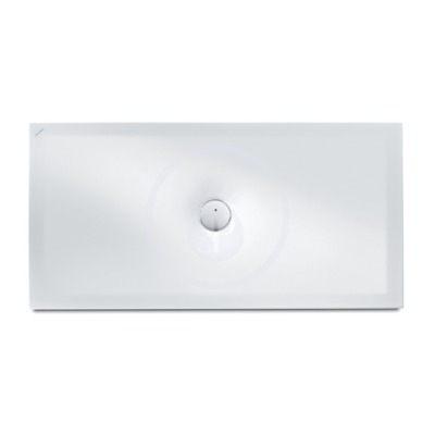 Sprchová vanička, 1400 x 800 mm, ocel/smalt 3,5 mm - s protihlukovými podložkami, bílá