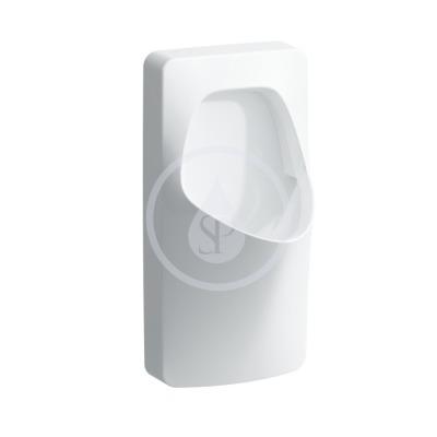 Urinál se sifonem, 380 x 365 mm, bílá - s přípojením na odpad průměr 50 mm