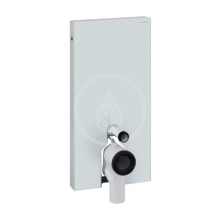 Geberit Monolith Sanitární modul pro stojící WC, 101 cm, boční přívod vody, bílá 131.003.SI.5