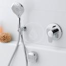 Ruční sprcha MyTwin 120, chrom/černá