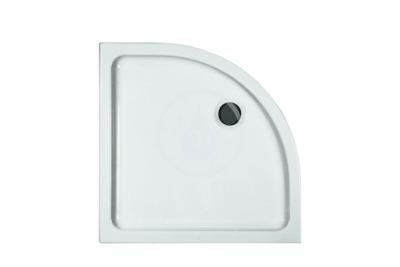 Sprchová vanička, 800x800 mm, bílá