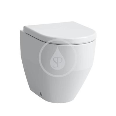 Stojící WC, 530x360 mm, rimless, bílá