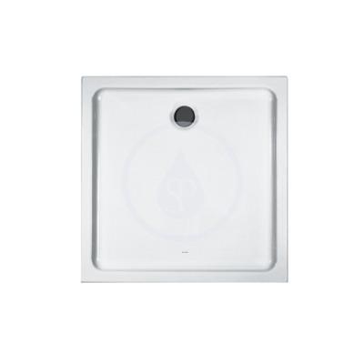Sprchová vanička, 800x800 mm, AntiSlip, bílá