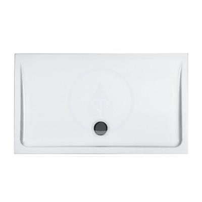 Sprchová vanička, 700x1200 mm, bílá