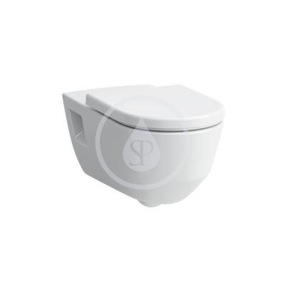 Závěsné WC, 700x360 mm, rimless, bílá