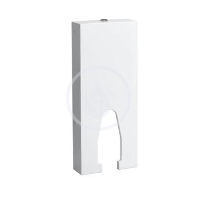 Stojící splachovací nádrž, 400x140 mm, bílá