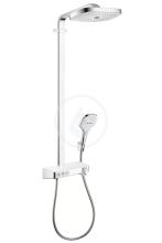 Hansgrohe Raindance Select E Sprchový set Showerpipe 300 s termostatem ShowerTablet Select, 3 proudy, bílá/chrom 27127400