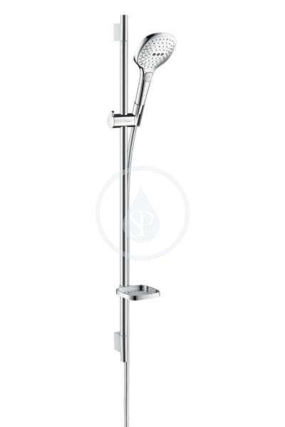 Sprchová souprava 120, 3 proudy, bílá/chrom
