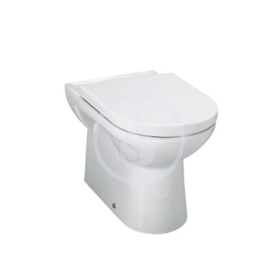 Stojící WC, 580x360 mm, s LCC, bílá