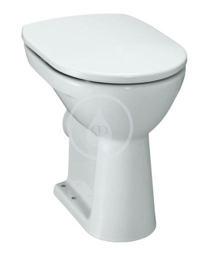 Stojící WC, 470x360 mm, bílá