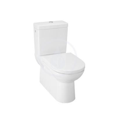 WC kombi mísa, 670x360 mm, bílá