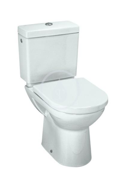 WC kombi mísa, 670x360 mm, s LCC, bílá