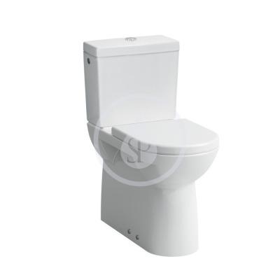 WC kombi mísa, 700x360 mm, s LCC, bílá