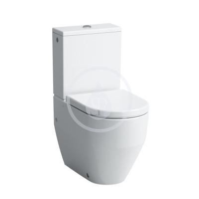 WC kombi mísa, 650x360 mm, s LCC, bílá