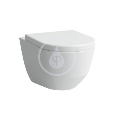 Závěsné WC, 530x360 mm, s LCC, bílá