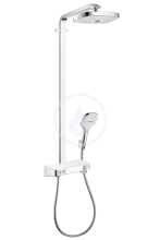 Hansgrohe Raindance Select E Sprchový set s termostatem ShowerTablet, 300 mm, 2 proudy, bílá/chrom 27126400