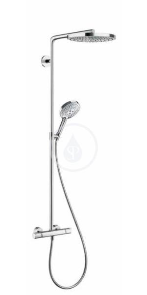 240 2jet Showerpipe, bílá/chrom