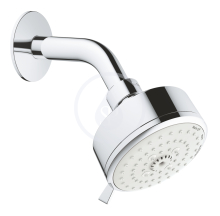 Hlavová sprcha, 3jet, chrom
