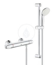 Grohe Grohtherm 1000 Termostatická sprchová baterie se sprchovou soupravou 600 mm, chrom 34151004
