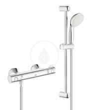 Termostatická sprchová baterie se sprchovou soupravou 600 mm, chrom