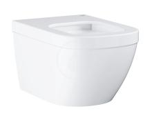 Grohe Euro Ceramic Závěsné WC, rimless, Triple Vortex, alpská bílá 39328000