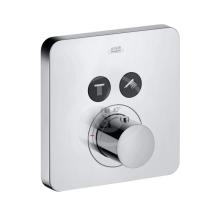 Axor ShowerSelect Termostat pod omítku pro 2 spotřebiče, chrom 36707000