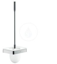 Axor WC štětka nástěnná s držákem, chrom 42835000
