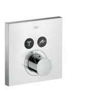 Axor ShowerSelect Termostat pod omítku pro 2 spotřebiče, chrom 36715000