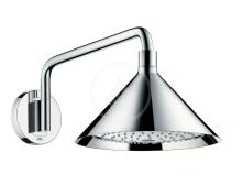 Axor Horní sprcha 240 2jet se sprchovým ramenem a designem Front, chrom 26021000