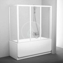 Pevná vanová APSV-70, 670-705 mm, bílá/čiré sklo