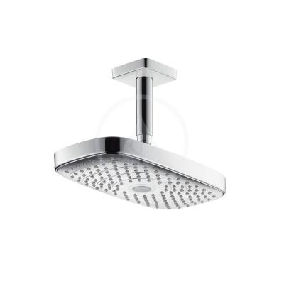Horní sprcha 300 2jet s přívodem od stropu 100 mm, EcoSmart, chrom