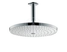 Hansgrohe Raindance Select S Hlavová sprcha 300, 2 proudy, sprchové rameno 100 mm, bílá/chrom 27337400