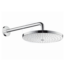 Hansgrohe Raindance Select S Hlavová sprcha 300, 2 proudy, sprchové rameno 390 mm, bílá/chrom 27378400