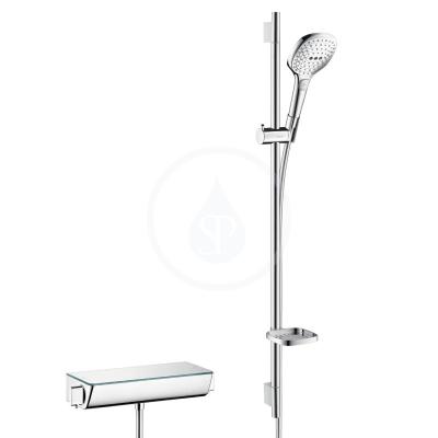 Combi 0,90 m s ruční sprchou Raindance Select E 120 3jet, bílá/chrom