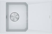 Franke FX Fragranitový dřez FXG 611-78, 780x500 mm, bílá-led 114.0540.824