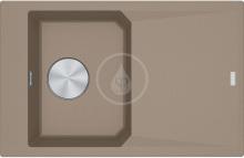 Franke FX Fragranitový dřez FXG 611-78, 780x500 mm, kašmír 114.0540.823