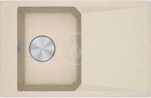 Franke FX Fragranitový dřez FXG 611-78, 780x500 mm, pískový melír 114.0540.826